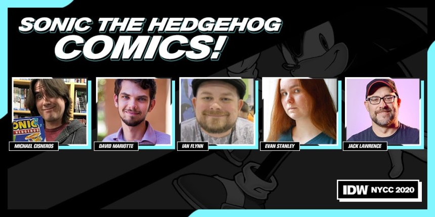 IDW Presents: Sonic The Hedgehog Comics!