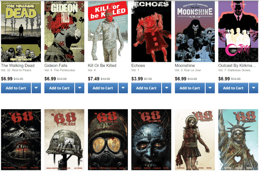 Image Comics Horror Sale