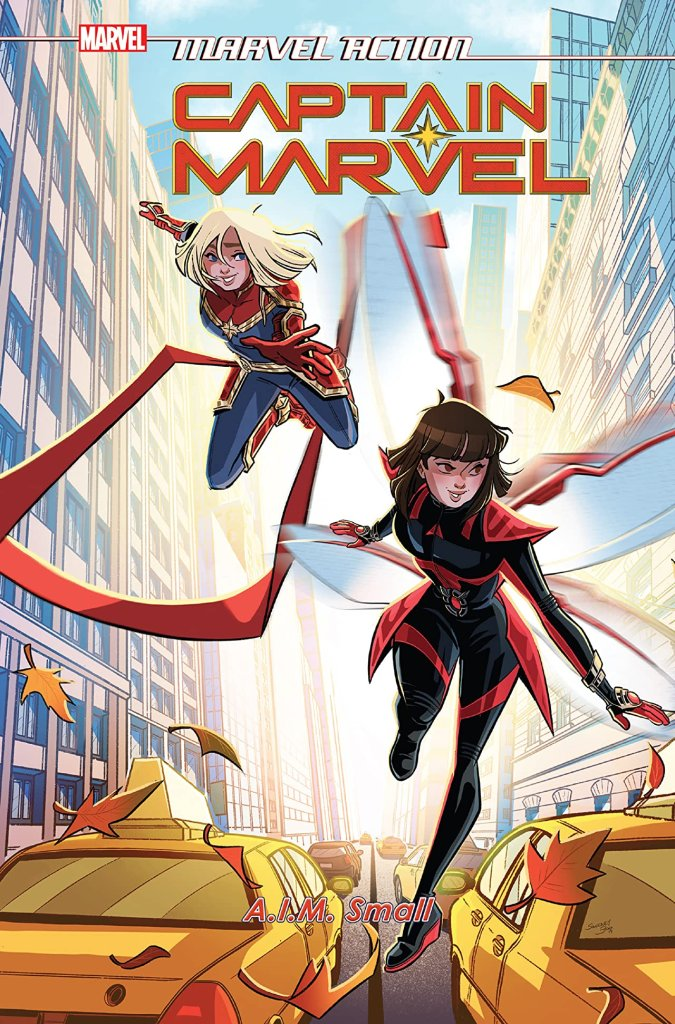 Marvel Action Captain Marvel Vol. 2: A.I.M. Small