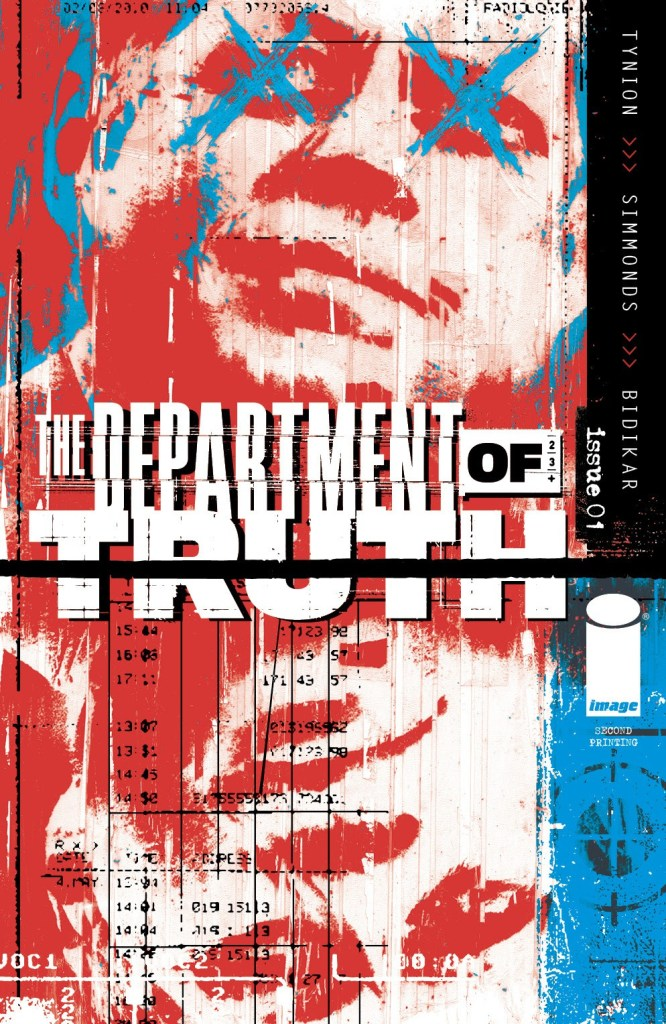 The Department of Truth #1 second printing