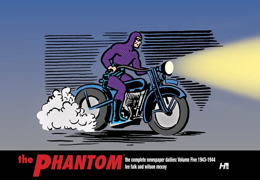 The Phantom: The Complete Newspaper Dailies: 1943-1944 Vol. 5