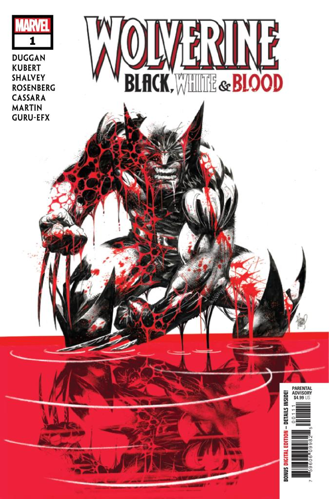 Wolverine: Black, White, & Blood #1 (of 4)