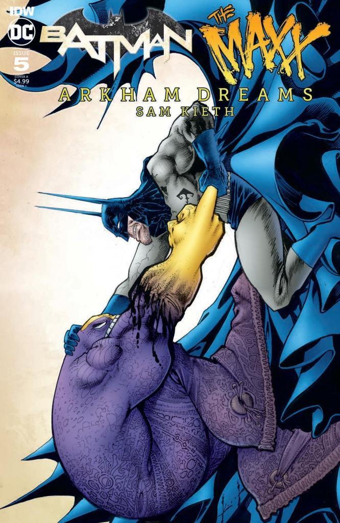 Batman/The Maxx: Arkham Dreams #5
