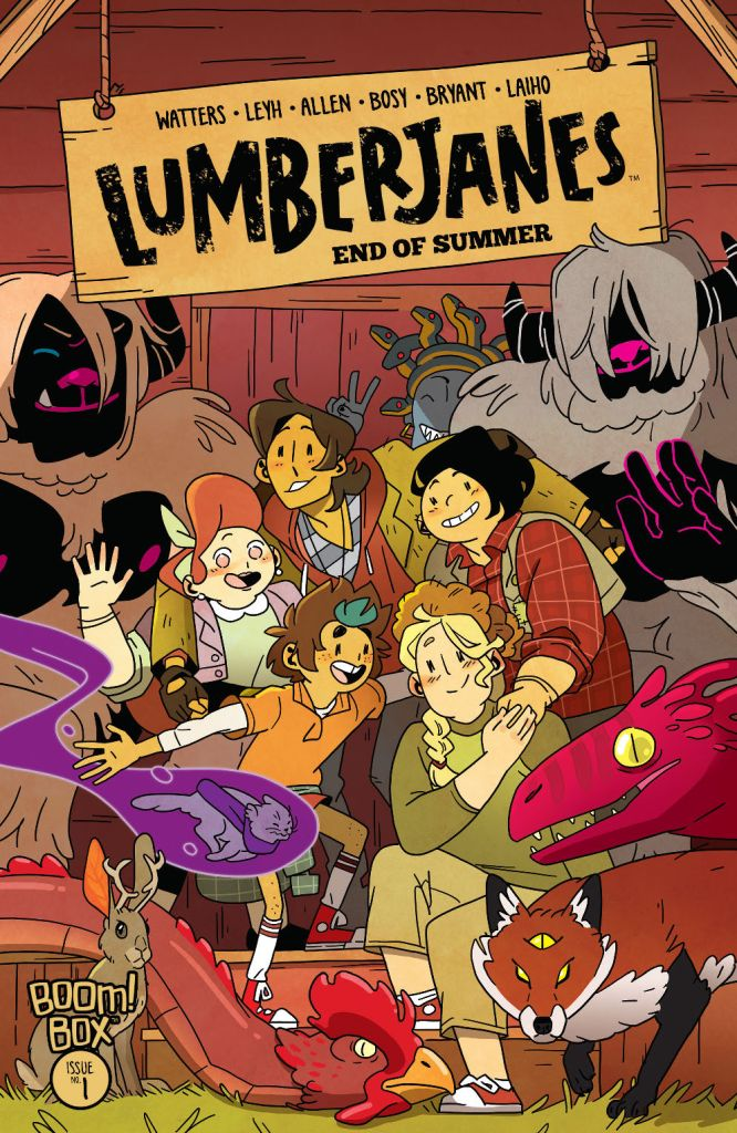 Lumberjanes: End of Summer #1