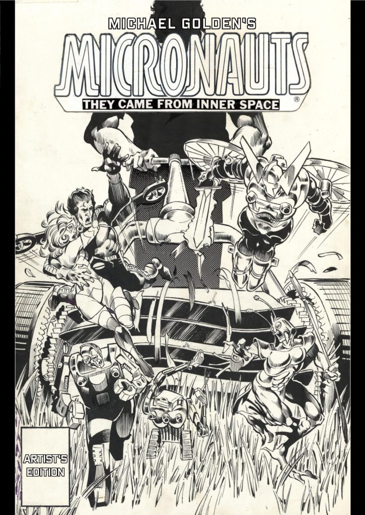Michael Golden's Micronauts Artist Edition