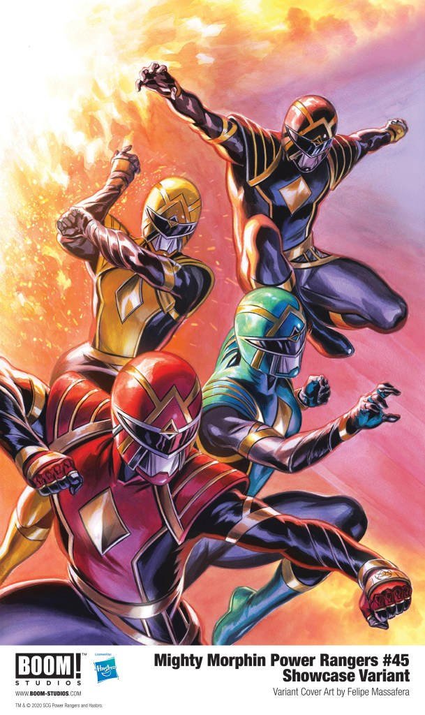 Mighty Morphin Power Rangers #45 Showcase Variant