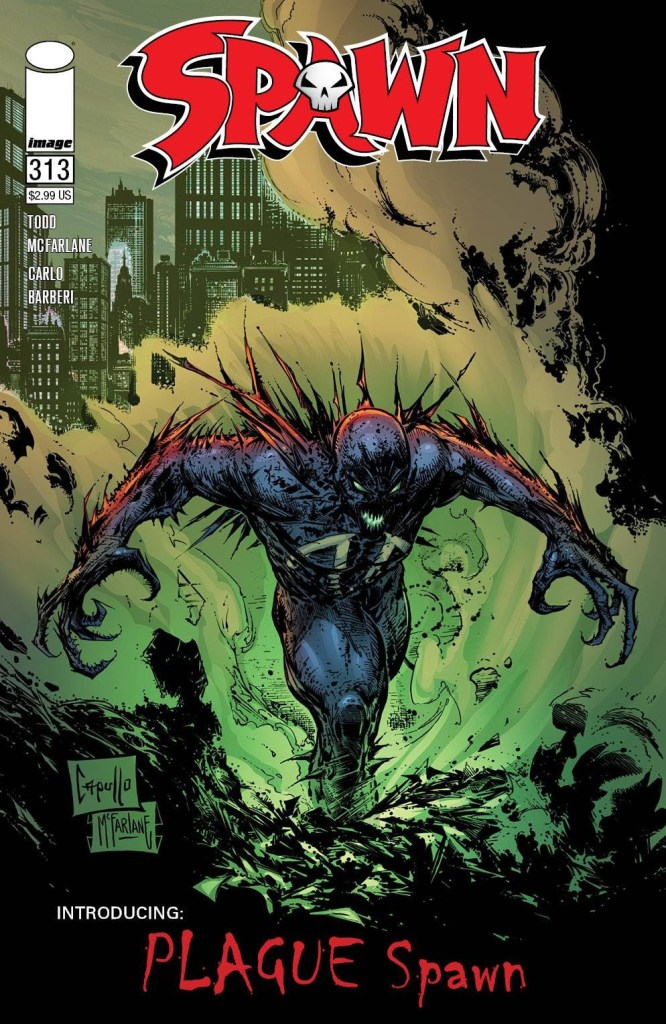 SPAWN #308 COVER B IMAGE 2020 1st Print COMIC