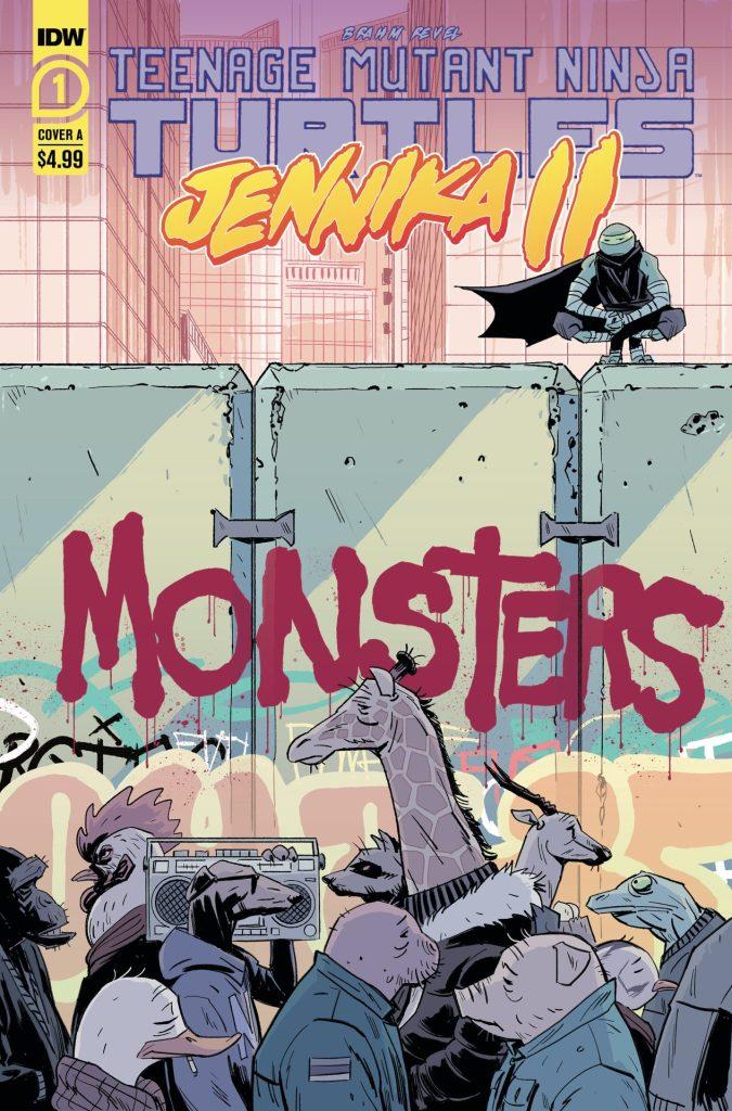 Teenage Mutant Ninja Turtles: Jennika II #1