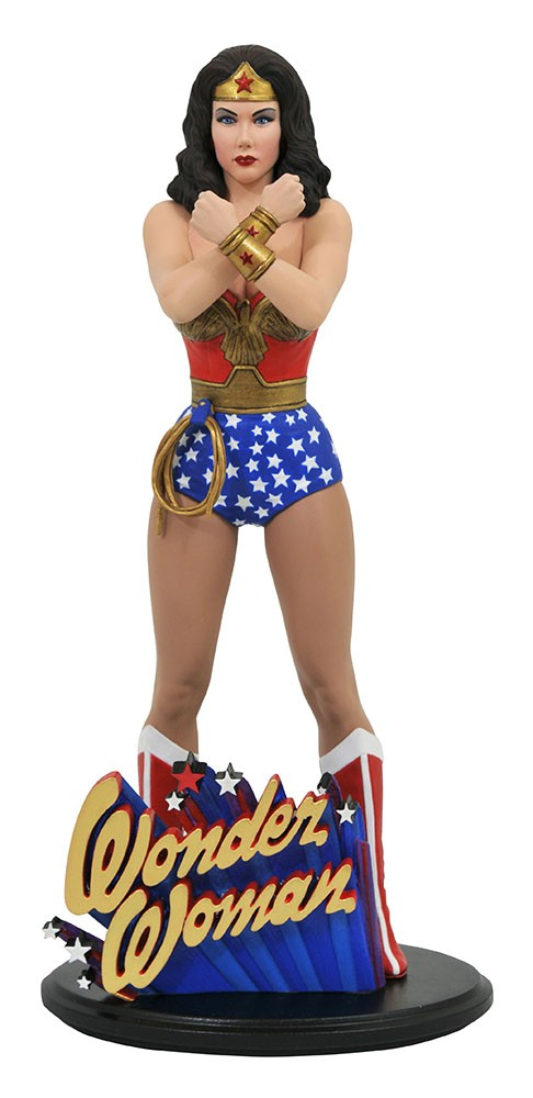 DC Classic TV Gallery Diorama Wonder Woman PVC