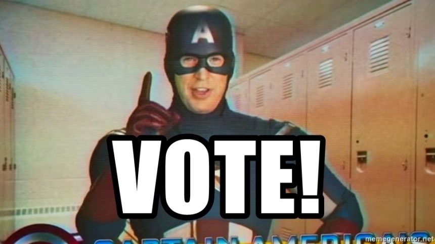 Captain America Vote