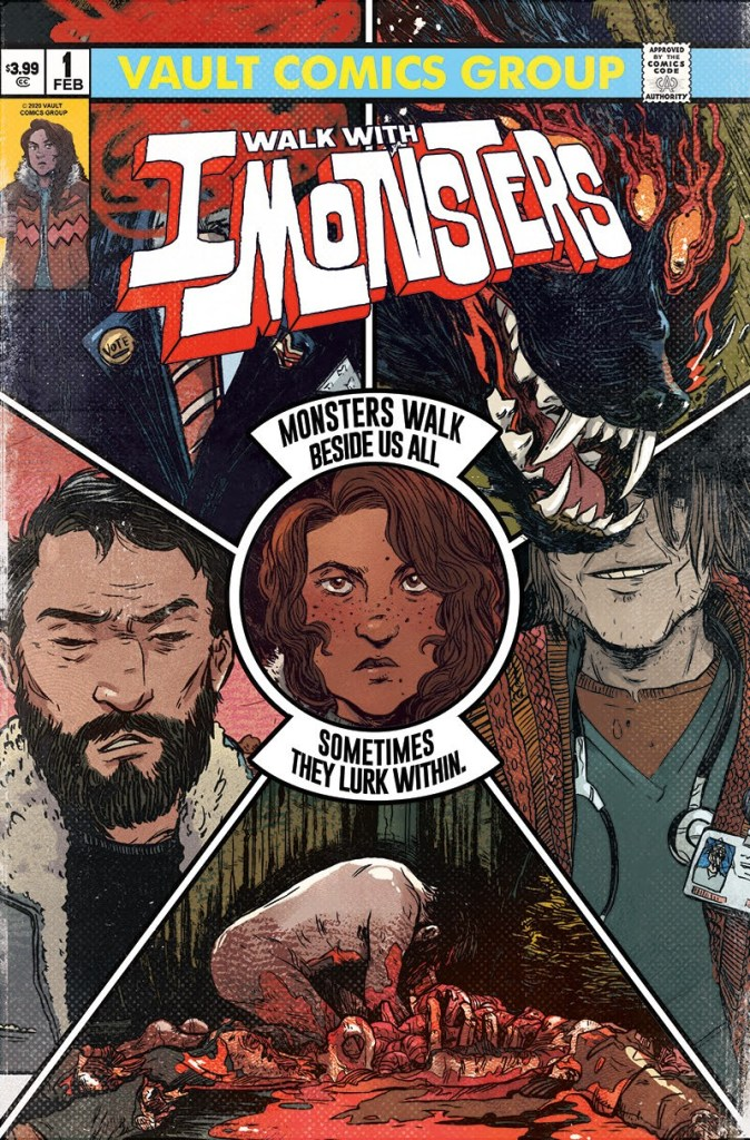 I Walk With Monsters #1 second printing