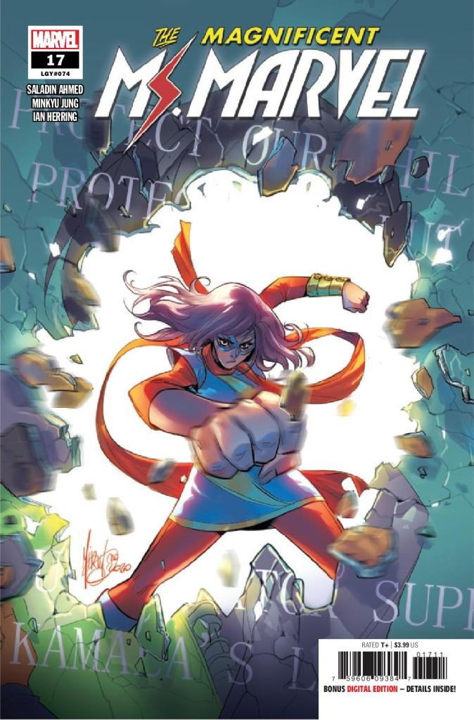 The Magnificent Ms. Marvel #17