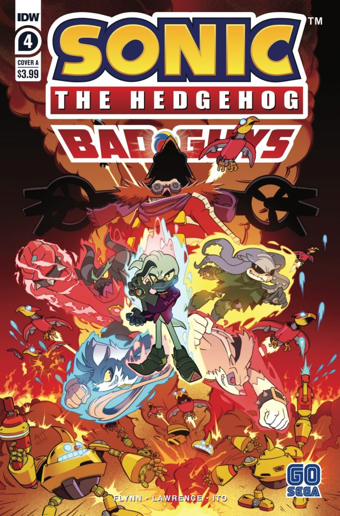 Sonic the Hedgehog: Bad Guys #4 (of 4)