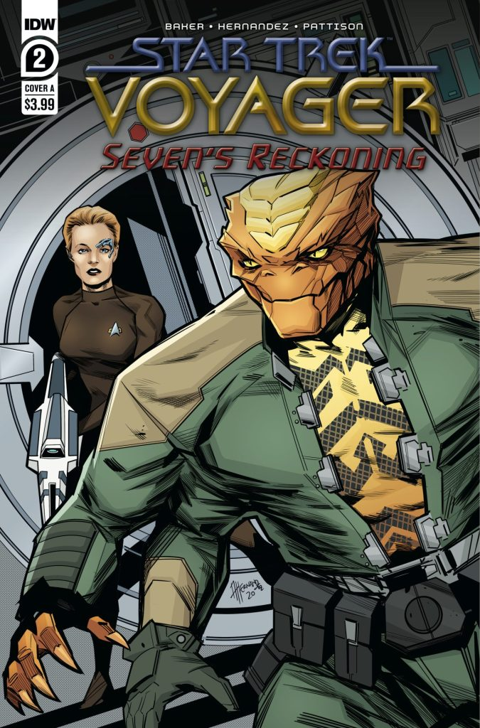 Star Trek: Voyager: Seven's Reckoning #2 (of 4)