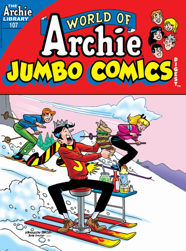 WORLD OF ARCHIE JUMBO COMICS DIGEST #107