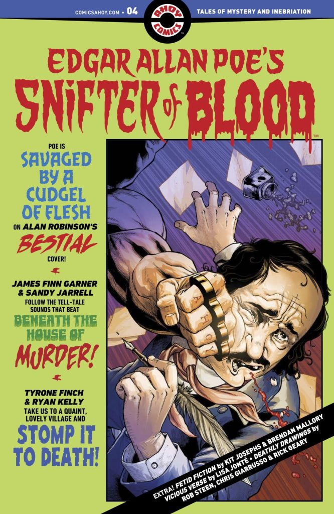 EDGAR ALLAN POE'S SNIFTER OF BLOOD #4