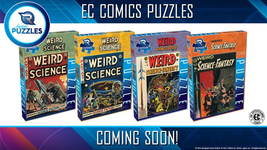 Renegade Game Studios EC Comics puzzles