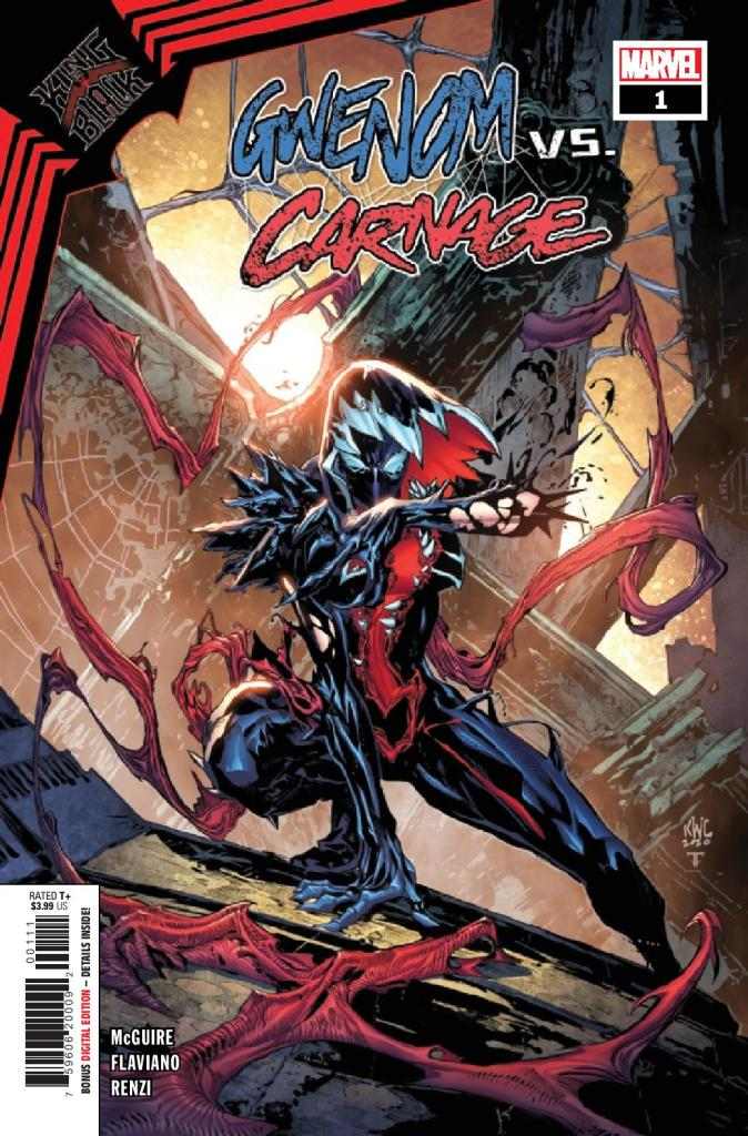 King in Black: Gwenom vs. Carnage #1