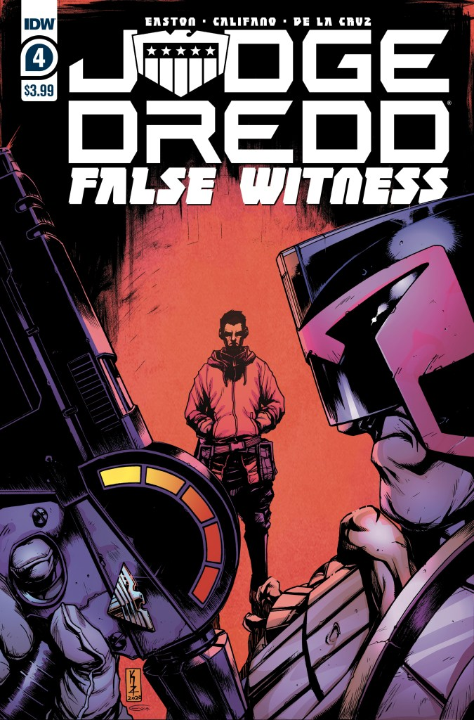 Judge Dredd: False Witness #4 (of 4)