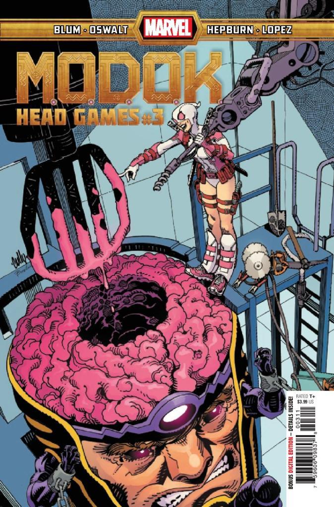 M.O.D.O.K.: Head Games #3