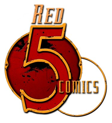 Red 5 Comics logo