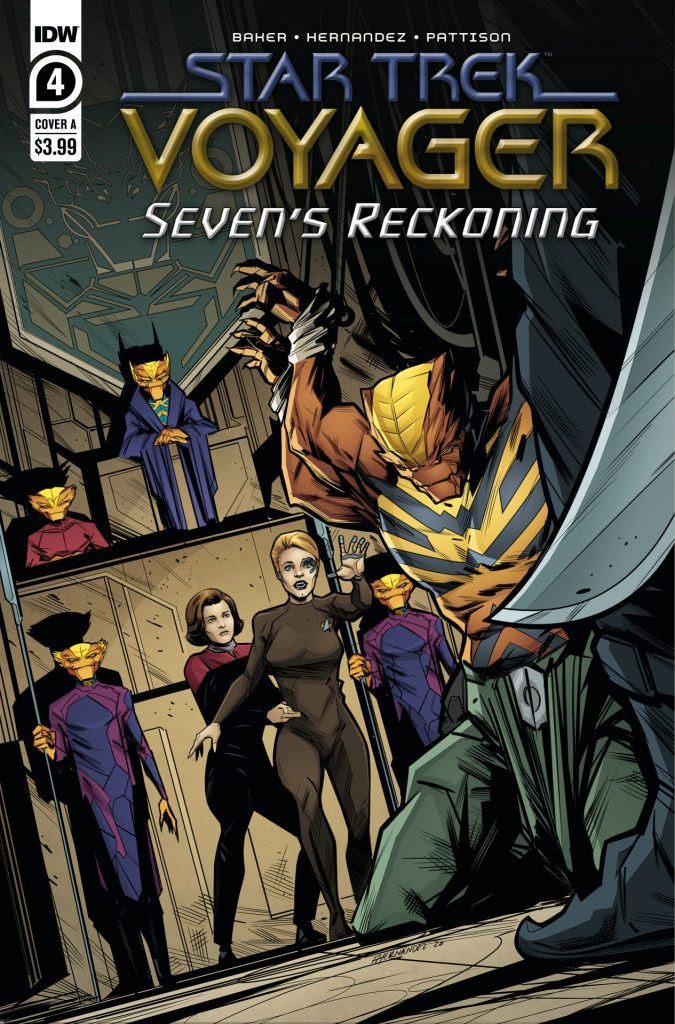 Star Trek: Voyager: Seven's Reckoning #4 (of 4)