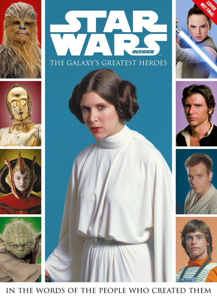 STAR WARS: THE GALAXY'S GREATEST HEROES HC