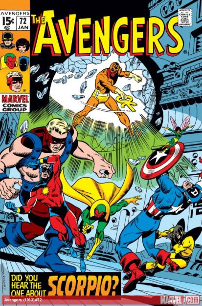 The Avengers #72