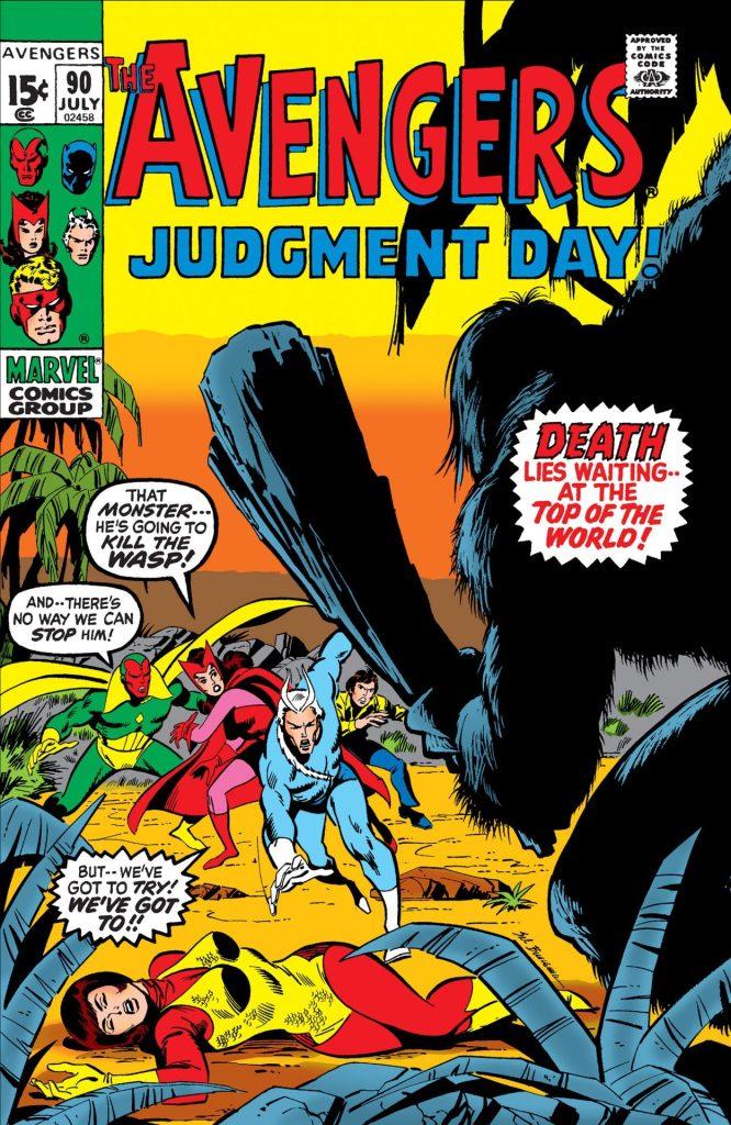 Avengers #90