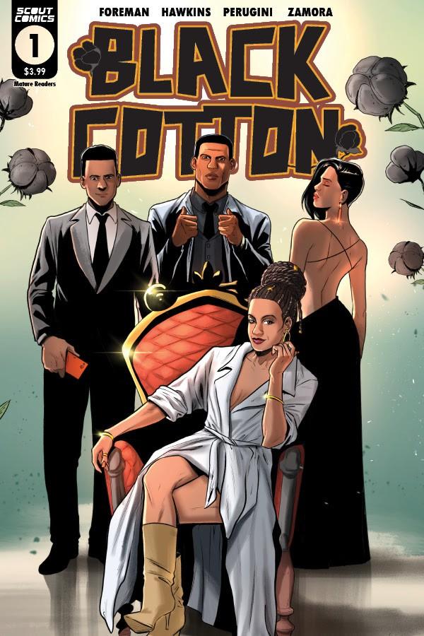 Black Cotton #1 2nd printing
