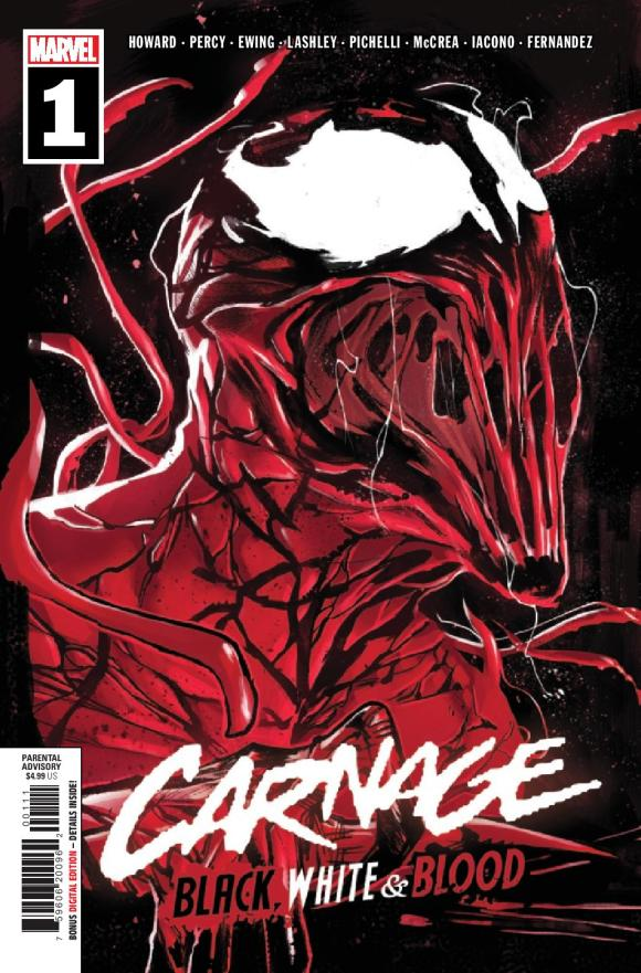 Carnage, Black, White, and Blood #1