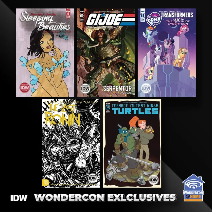 IDW WonderCon 2021 Exclusives
