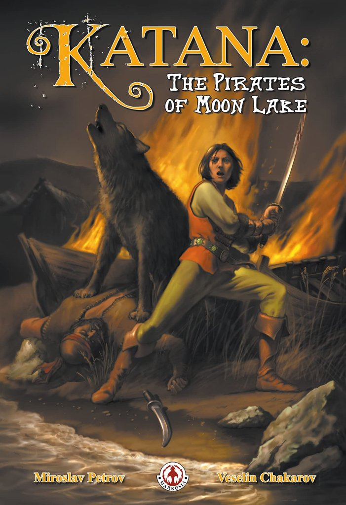 Katana Vol. 2 #1: The Pirates of Moon Lake
