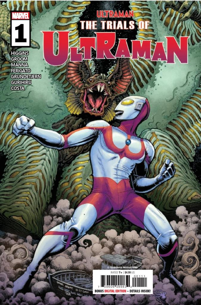 The Trials of Ultraman #1 (of 5)