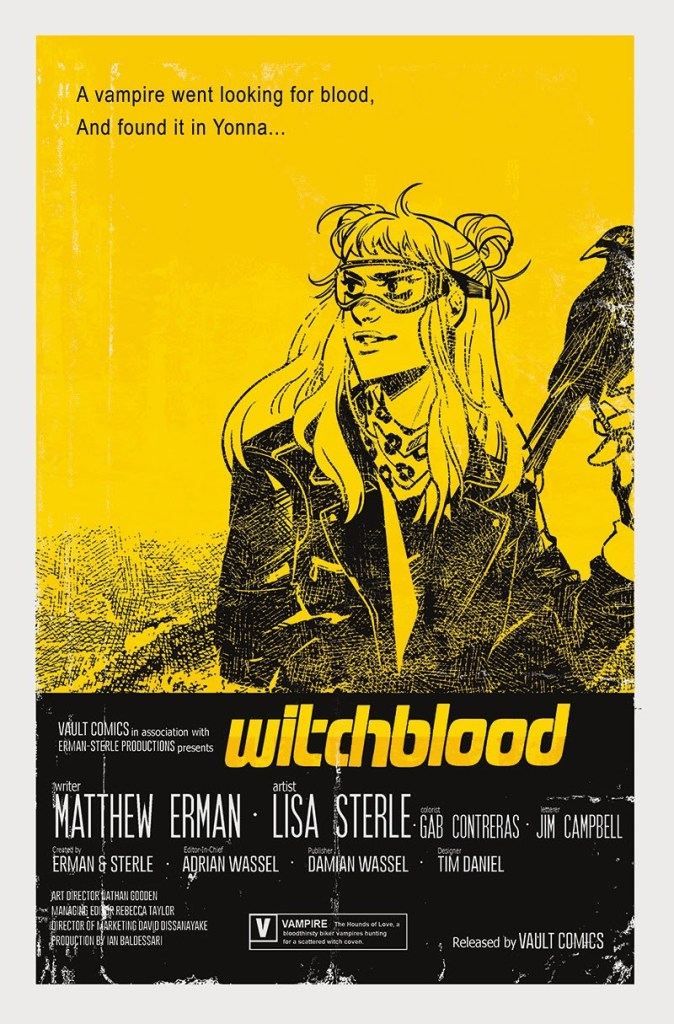 Witchblood #1 moie poster variant