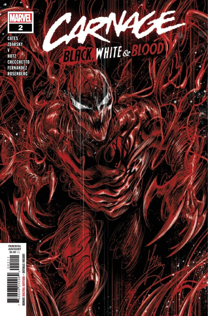 Carnage: Black, White, and Blood #2 (of 4)
