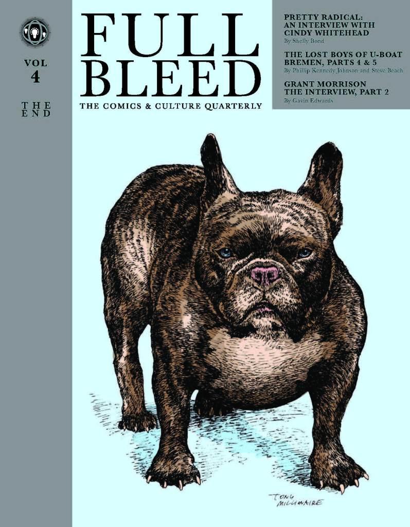 Full Bleed Comics & Culture Quarterly Vol. 4 The End