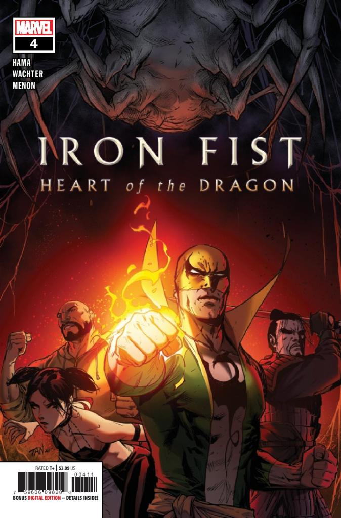 Iron Fist: Heart of the Dragon #4 (of 6)