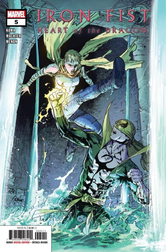 Iron Fist: Heart of the Dragon #5 (of 6)