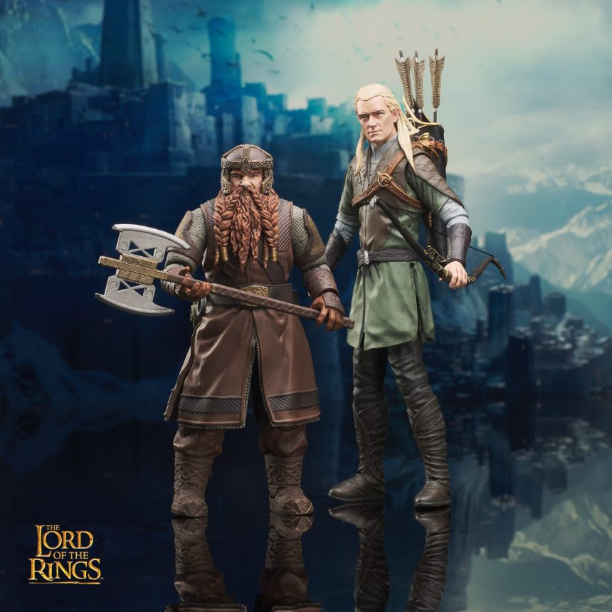 Lord of the Rings Deluxe Action Figures Series 1 Asst.
