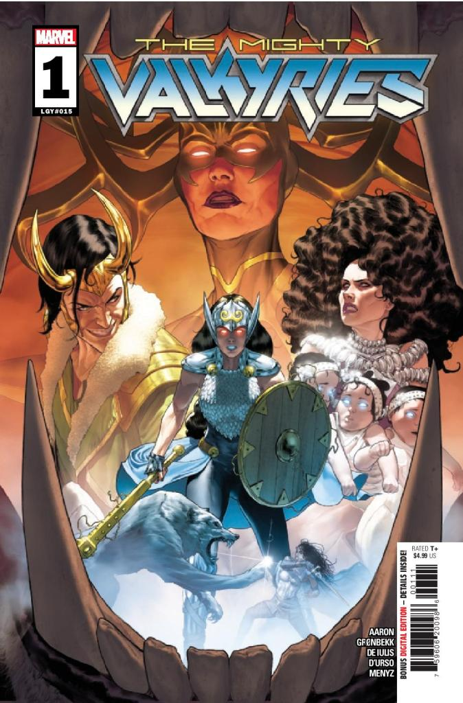 The Mighty Valkyries #1 (of 5)