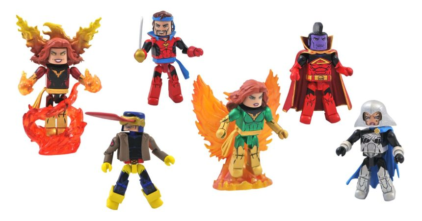 Marvel Comic Minimates Series 81 Dark Phoenix Asst.