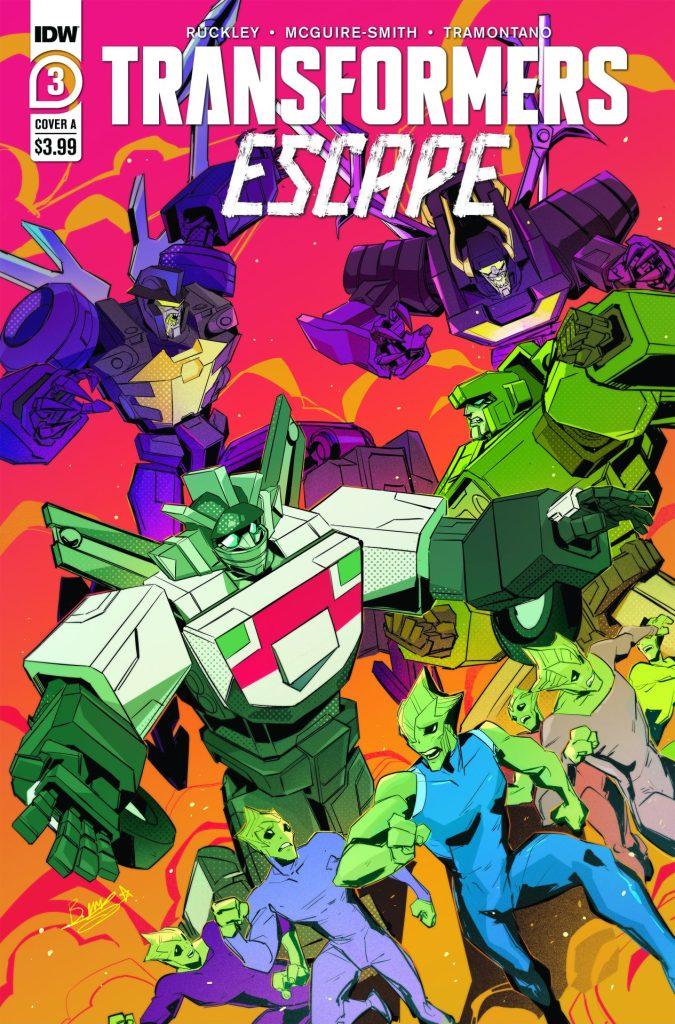 Transformers: Escape #3 (of 5)
