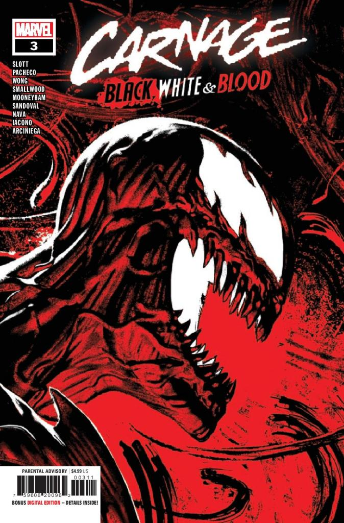Carnage: Black, White, and Blood #3 (of 4)