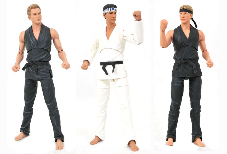San Diego 2021 Cobra Kai Dojo Deluxe Action Figure Box Set