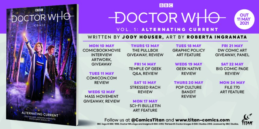 Doctor Who Vol. 1 Alternative Current blog tour