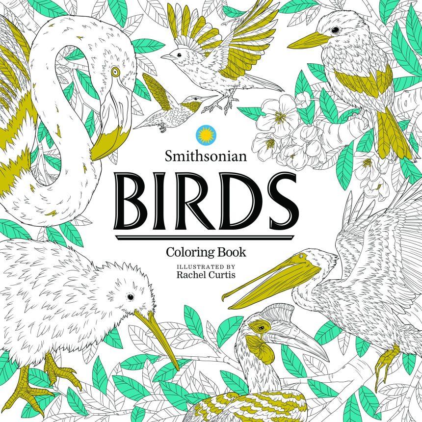 Birds: Smithsonian Coloring Book
