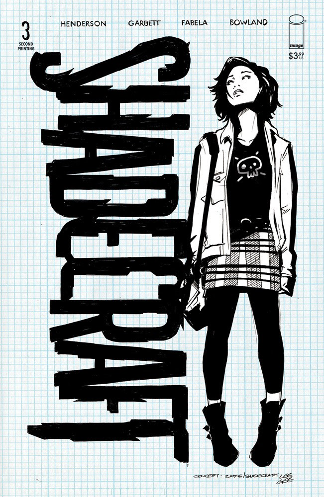 Shadecraft #3, second printing