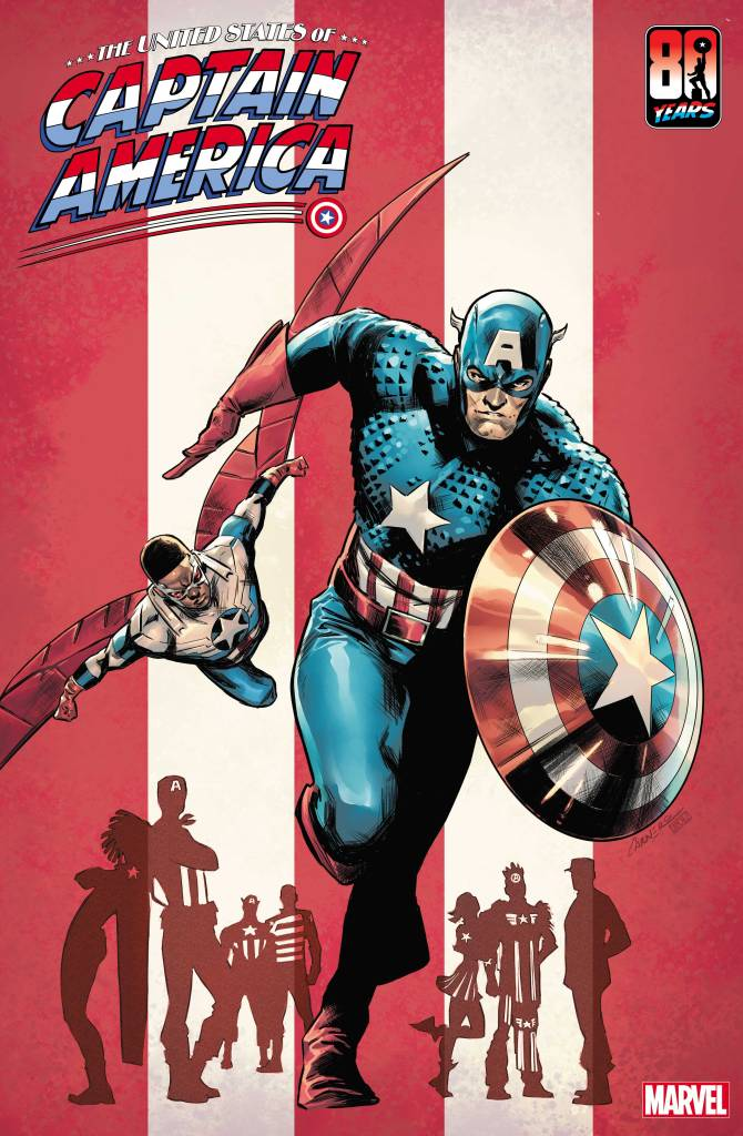 The United States of Captain America #1 Carmen Carnero variant