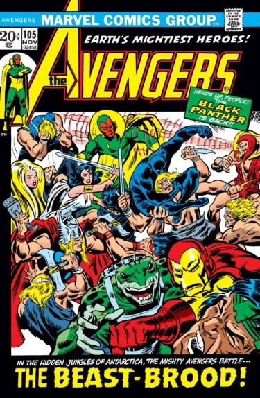 Avengers #105